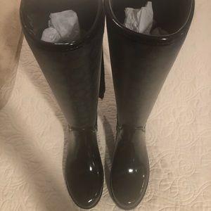 Coach Rain boots size 6 New